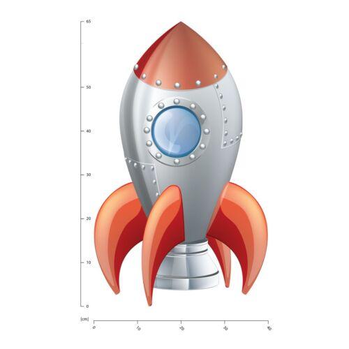 Raumschiff Rakete Wandtattoo WS-41056