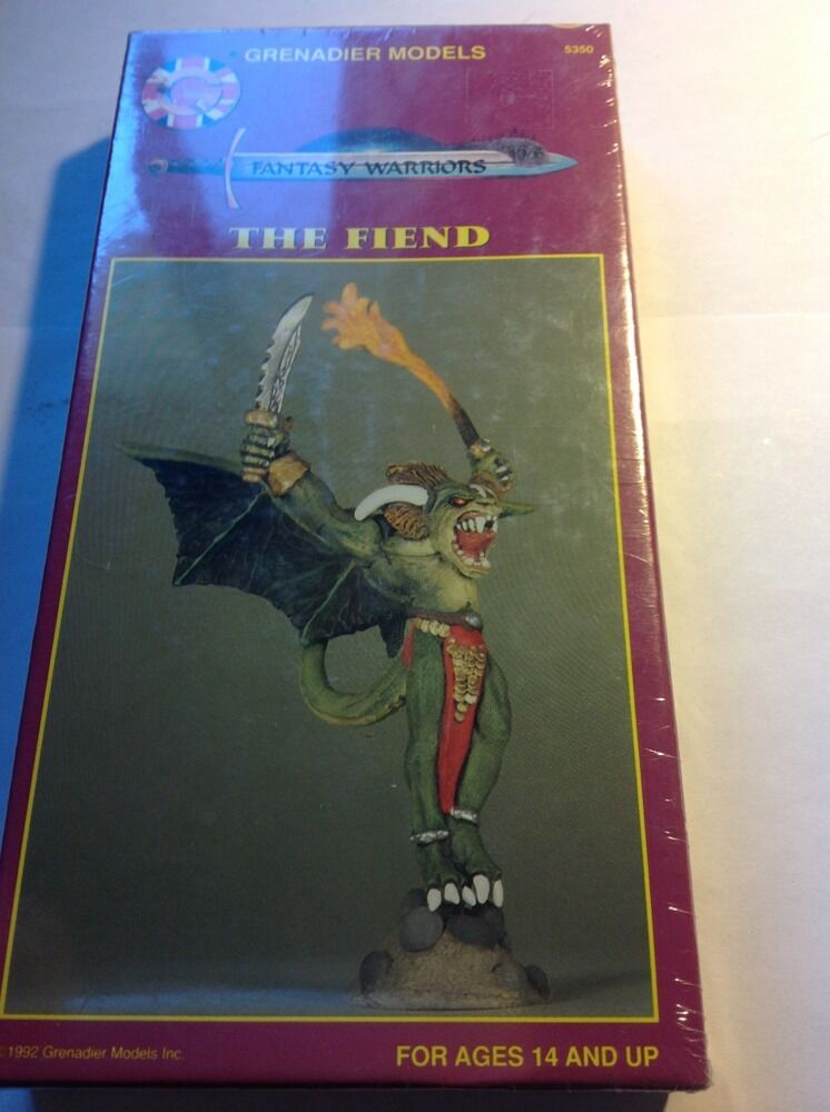 GRENADIER Fantasy Warriors Fiend, Neuf dans sa boîte Épuisé