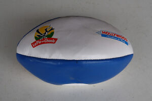 Ballon Rugby Neuf Collector Fete, Anniversaire Poulain, Carambar, Hollywood,