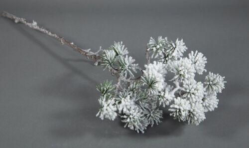 Japanischer Pinienzweig mit Schnee 60cm JA künstlicher Tannenzweig Pinie Tanne