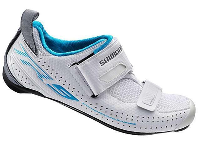 Shimano TR9 Womens Tri Shoes. White. Size 41EU/8.5US.