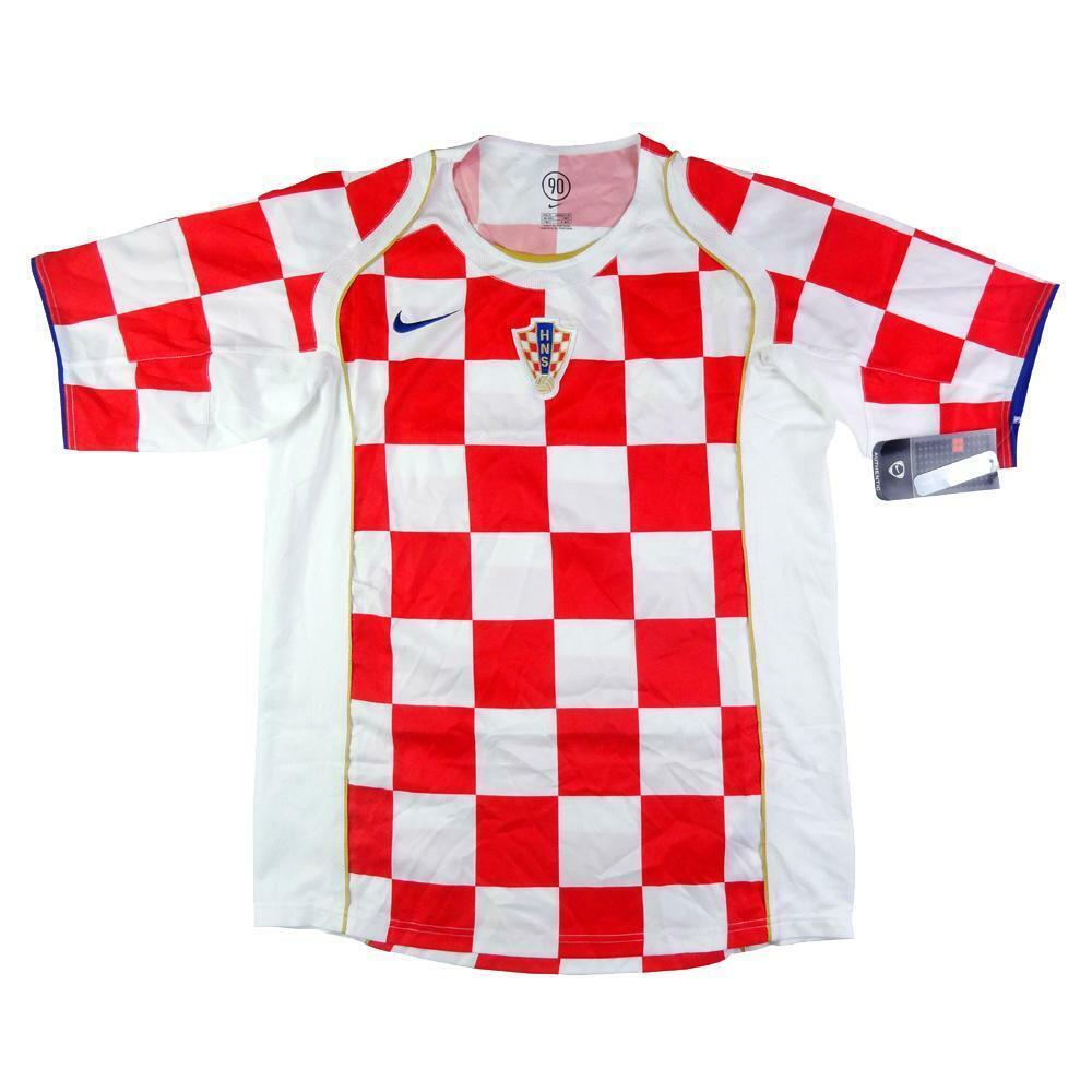 200406 Croazia Maglia Home autotellino e Confezione  SHIRT MAILLOT TRIKOT