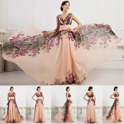 PLUS Vintage style Mermaid Evening Formal Mother of Bride Gown Party Prom Dress