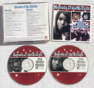 Sounds-of-the-sixties-Soul-Classics-time-life-RARE-CD-TL-SCC-25-Holland-B-V