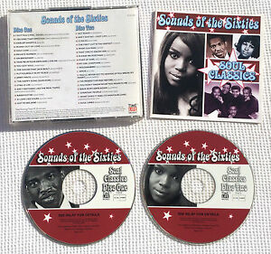 Sounds-of-the-sixties-Soul-Classics-time-life-RARE-CD-TL-SCC-25-Holland-B-V
