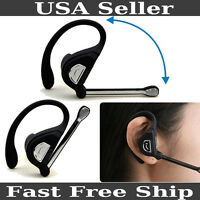 Bluetooth Wireless Headset Ear-hook Earphone Stereo For Iphone Samsung Htc Lg
