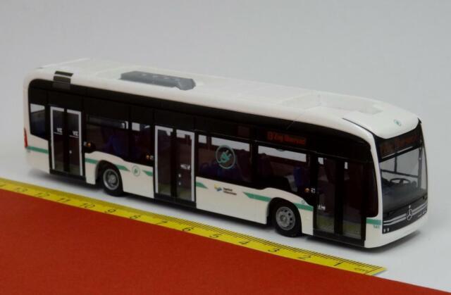 Rietze Stadtbus eCitaro Vorführdesign 75502