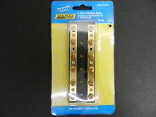 6 Gang Terminal Block Common Bus Bar with Brass Terminals for Boats 50-13531