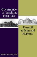 Governance of Teaching Hospitals: Turmoil at Penn and Hopkins