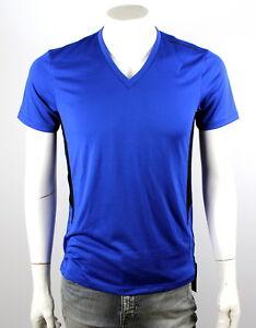 Armani-Exchange-A-X-Men-039-s-Pieced-V-Neck-Tee-Shirt-Top-3YZTBL-ZJL1Z