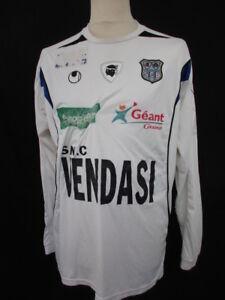 taglia 2 2007 Sc Sc da calcio Maglia Bastia Ligue Goda vintage bianca Jules ORSAxn4q