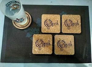 Opeth-My-Arms-Your-Hearse-4-CORK-DRINK-COASTERS-POSAVASOS-DE-CORCHO