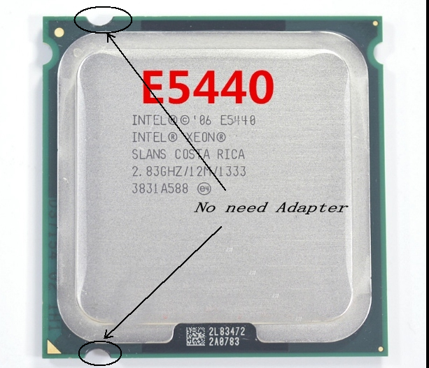 Intel Xeon E5440 2.83GHz Quad-Core Processor ( LGA775 No need Adapter )
