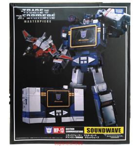 Transformers Masterpiece MP-13 barco listo Soundwave Destron comunicación Ko ver