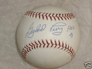 6b3d0c308d1 Image is loading Gaylord-Perry-034-HOF-91-034-Autographed-Baseball-