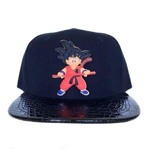 ae5ecd6c1 Details about Custom Gamer Anime Dragon Ball Goku Cosplay Snapback Hat  Widebrim Cap Assorted