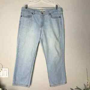 Tommy Hilfiger Cropped Hipster Jeans SZ 14