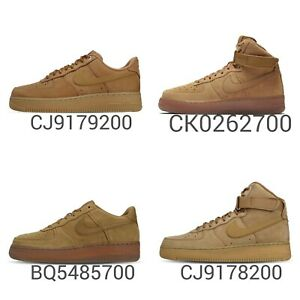 Nike-Air-Force-1-High-Low-Wheat-Flax-Mens-Womens-Youth-Classic-Shoes-Pick-1