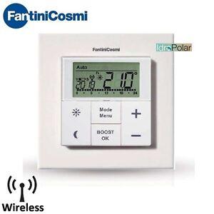 Cronotermostato settimanale wireless fantini cosmi c801 for Cronotermostato wifi fantini