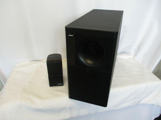 Bose Acoustimass 5 Series II Direct/Reflecting Speaker Subwoofer & Cube Speaker