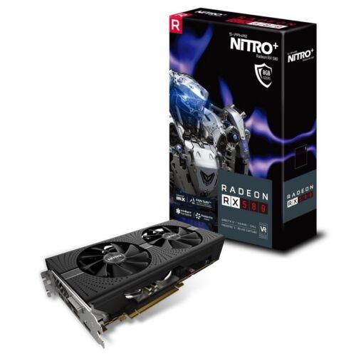Radeon RX 580 8GB GDDR5 Graphics Card Sapphire Nitro