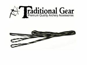 """FREE SHIPPING 62"""" ACTUAL INCH LENGTH FAST FLIGHT FLEMISH Recurve Bow String"""