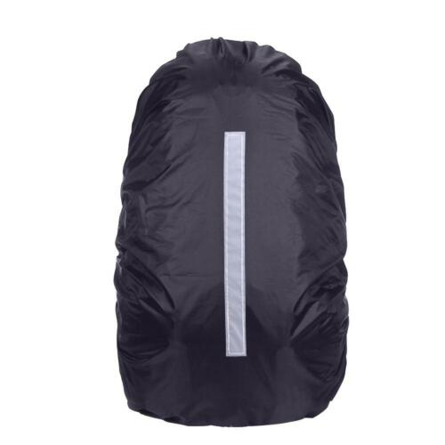 20-45L Reflective Waterproof Rain Dust Backpack Bag Cover Safety Travel