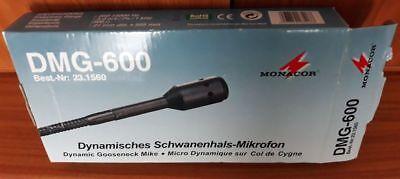 Dynamisches Schwanenhalsmikrofon Dmg-600 Monacor Ein Unbestimmt Neues Erscheinungsbild GewäHrleisten
