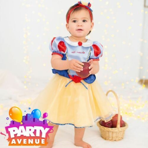 Disney Baby Snow White Princess Dress Toddler Babies Costume Outfit
