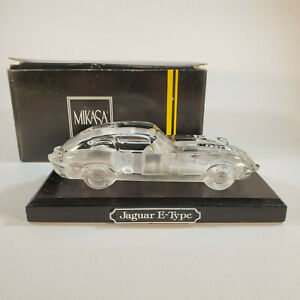 Mikasa-Crystal-Classics-Jaguar-E-Type-Crystal-Glass-Sculpture-with-Display