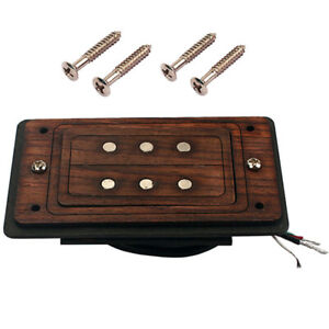 Three-Strings-3-Pole-Cigar-Box-Guitar-Pickup-Humbucker-Dual-Coil-Pickup