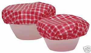Kitchen-Craft-Set-of-Seven-Elasticated-Plastic-Food-Bowl-Covers-KCFOODBOWL