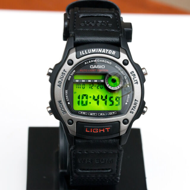Casio W-94HF-8AV Men's Digital Watch Multifunction Electro-Luminescent Panel New