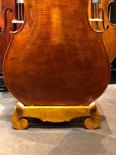 Ansprechendes Massivholz Design-Ständer für Kontrabass Stand for Double Bass