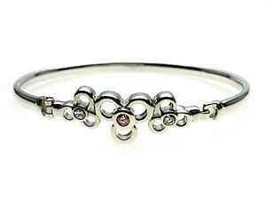 925-Sterling-Silver-Bangle-set-with-sparkling-Pink-amp-White-stones