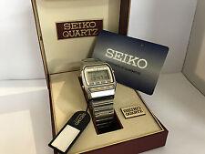 Seiko A547-5049 Chrono Alarm  Quartz  Digital LCD  Collectible Watch