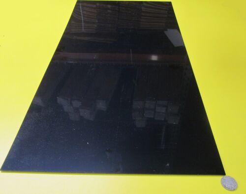 "8 Units .062/"" ABS Sheet  Smooth both Sides 1//16/"" Black x 12/"" x 24/"""