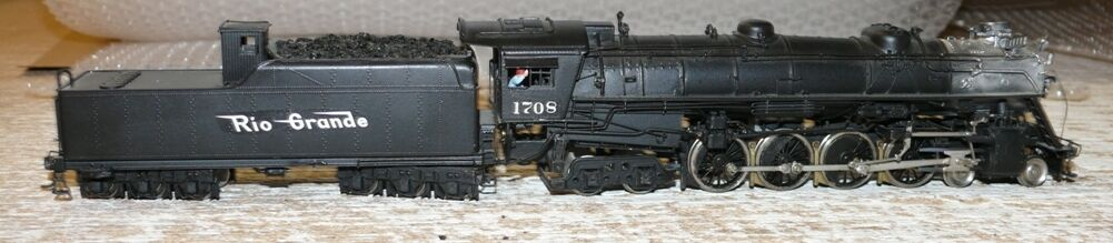 W31 SAMHONGSA BRASS STEAM LOCOMOTIVE 1708 m64 4-8-4 Class Baldwin 1929