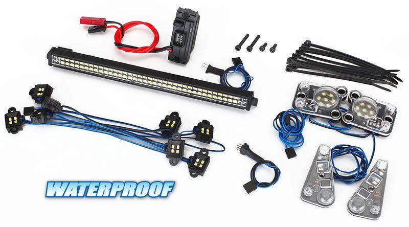 migliore vendita Traxxas TRA8030 completare LED light set TRX-4 Defender fits    8011 corpo  più economico