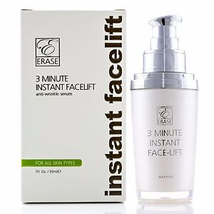 Erase Cosmetic 3 min Instant Facelift, Face Lift serum, Anti-Aging, Anti-Ageing