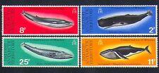 BAT 1977 BALENE/MAMMIFERI MARINI/NATURA/conservazione della Fauna/Set 4v (n32637)