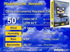 Davis Weatherlink Protocole Internet Weatherlinkip 6555 Pour 6250 6152 6163-afficher Le Titre D'origine 100% D'Origine
