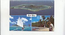 BF25544 bora bora la plus belle ile du monde france front/back image