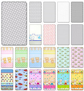100-COTTON-FITTED-SHEET-WITH-PRINTED-DESIGN-FOR-BABY-CRIB-COT-COTBED-JUNIOR-BED