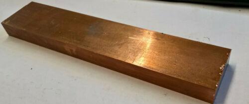 99,96/% Kupfer Flachmaterial,Schiene Platte 150x50x15 mm  Kupfer-Messingschrott