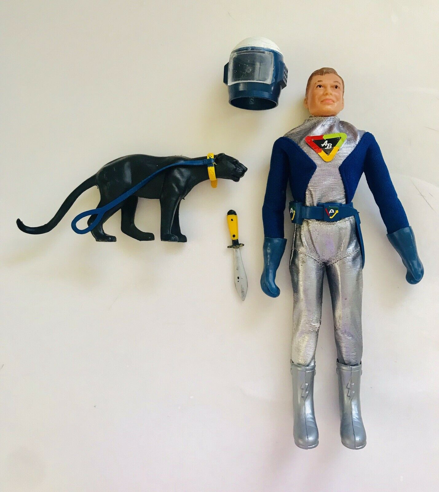 1968 ACTION BOY in SPACE SUIT by IDEAL TOYS Captain Action RARE