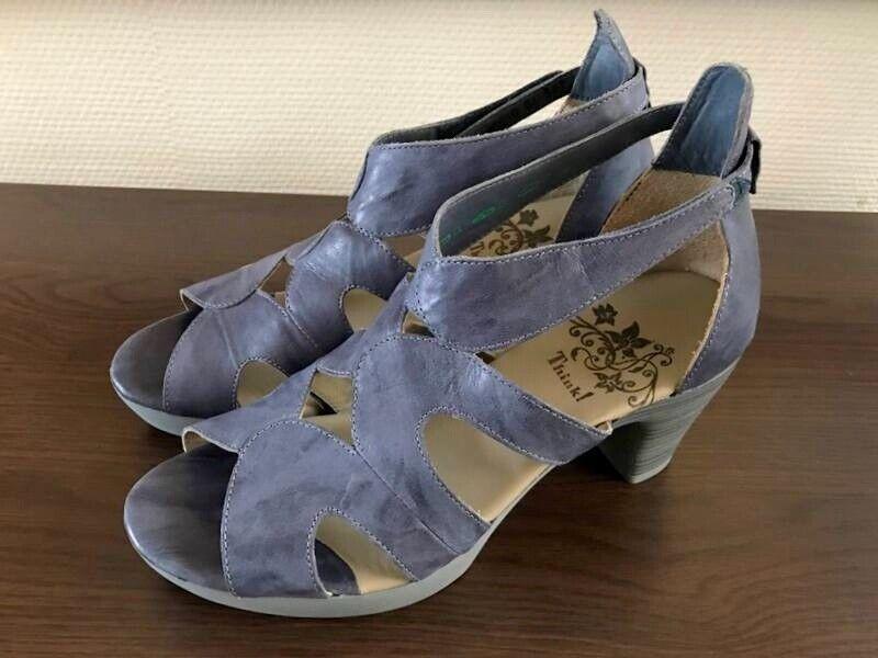 Think  Damen Sandalette Riemchen Sandalen Größe  39 NEU