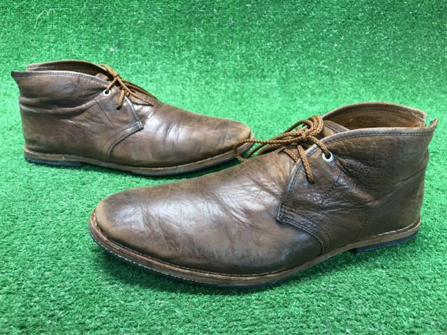 Timberland Mens Wodehouse Chukka Ankle Leather BOOTS 75509 Brown Size 8 for  sale online | eBay