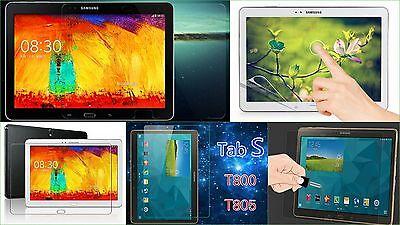"3x Antireflex Display Schutz Folie Samsung Galaxy Tab S 10,5"" Kratzfest matt Set"