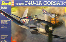 REVELL 1:32 SCALE WWII USMC VOUGHT F4U-1A CORSAIR PLASTIC MODEL AIRPLANE KIT